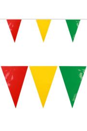 pvc vlaggenlijn rood/geel/groen JUMBO
