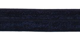 elastisch band | donker blauw