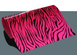 design flex zebra roze/zwart