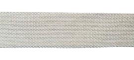 jute lint off white | 5 cm 5 mtr