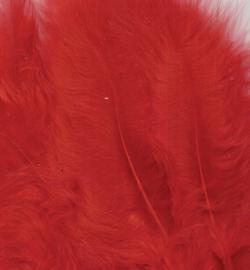 marabou veertjes rood