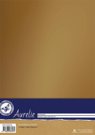 Aurelie Chromolux Cardstock Gold