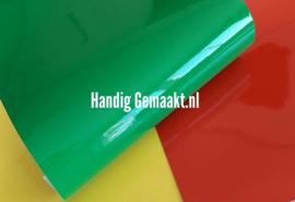 statische raamfolie | ROOD | GEEL | GROEN 50 x 30,5 cm