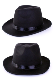 alcapone hoed zwart