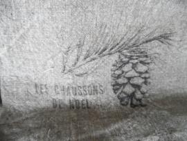 Shabby doek | dennenappel 30 x 45