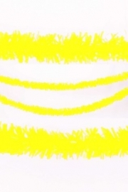PVC slinger geel 10 mtr