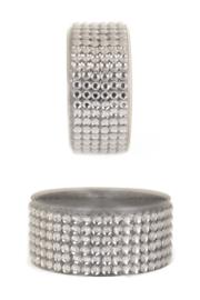 zelfklevend strassband zilver