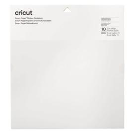 Cricut smart sticker cardstock WIT 33 x 33 cm