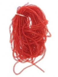 decoslang tube rood 10mm 2,5 mtr