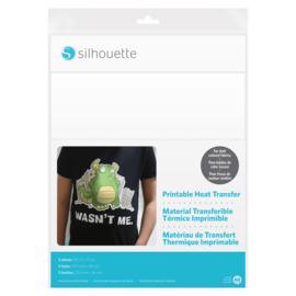silhouette printable heat transfer | dark fabric