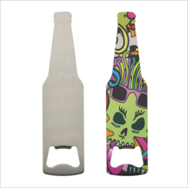 sublimatie flessenopener