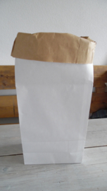 paperbag/blokbodem zak zonder opdruk