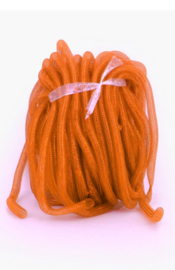 decoslang tube 16 mm oranje