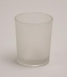 votive glaasje mat