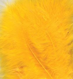 marabou veertjes geel