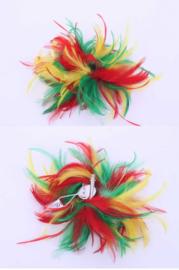 veren bloem rood/geel/groen