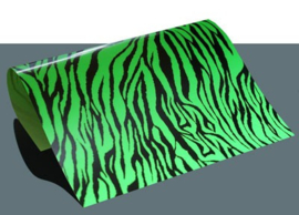 design flex zebra groen/zwart
