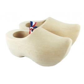 setje houten klompjes 6,5 cm