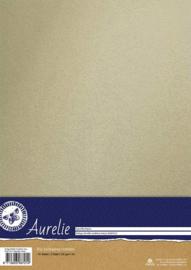 Aurelie Vintage Metallic Cardstock Ivory