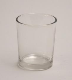 votive glaasje helder