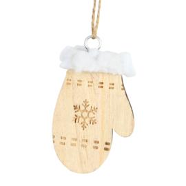 hanger houten handschoen