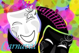 carnavalskaart alaaf masker