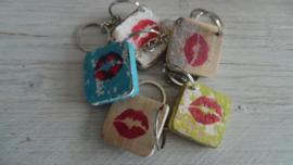 sleutelhanger symbool | lips