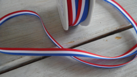 medaillelint rood/wit/blauw 10mm