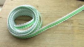 lint groen/wit geruit