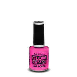 glow in the dark nagellak | pink