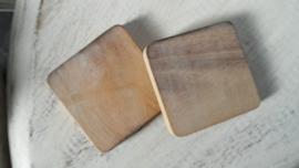 houten blanco blokje