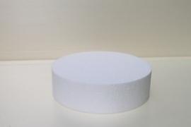 styropor taarten  rond 7 cm hoog