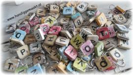 Houten sleutelhanger | scrabbleletters