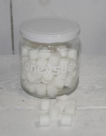 zeep rondjes wit