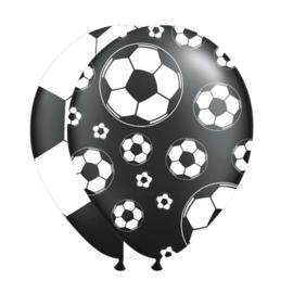 zwart/wit voetbal ballonnen
