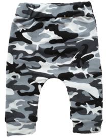 camouflage broekje grijs