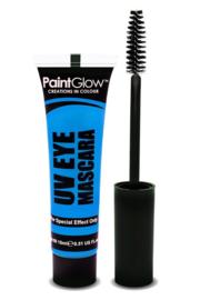Neon UV mascara blauw