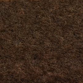 vilt bruin  2mm 30,5 x 30,5 cm