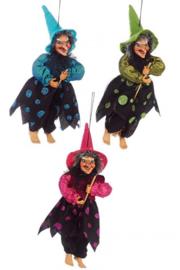 bonte vliegende heks