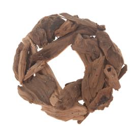houten krans 14 cm