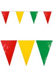 pvc vlaggenlijn rood/geel/groen