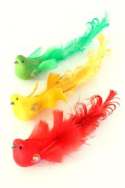 mus met glitter | rood/geel/groen