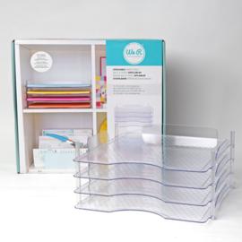 We R Memory Keepers • Stapelbare papierladen 4pcs