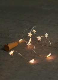 fles led verlichting sterren