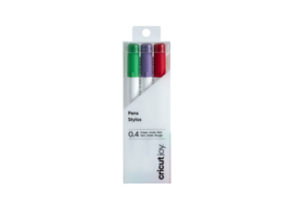 Cricut Joy ™ fine point pen 0,4 mm | rood, groen, violet