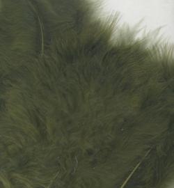 marabou veertjes mosgroen