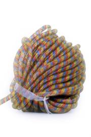 decoratie tube 16 mm rood/geel/blauw 2,5 mtr