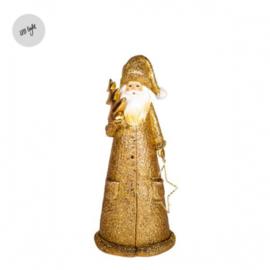 kerstman Nittedal goud | L