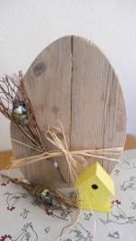 Steigerhouten paasei XL