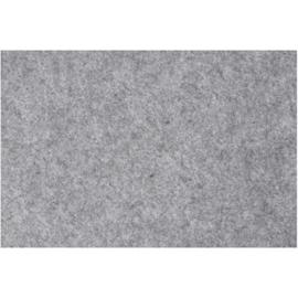 vilt 3mm   grijs 42 x 60 cm